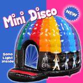 Château Gonflable Mini Disco