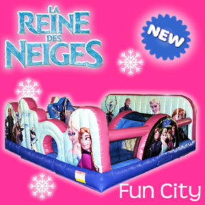 Reine des Neiges Frozen Fun City