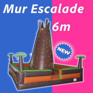 Location Mur Escalade gonflable