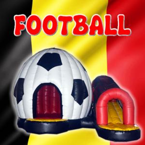 Château gonflable football belge